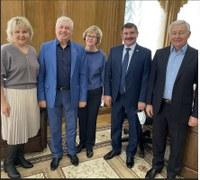 Делегация из Уйского района побывала с рабочим визитом в Законодательном Собрании Челябинской области