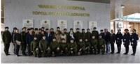Монументальный знак «Челябинск-Танкоград – город трудовой доблести» торжественно открыли в южноуральской столице