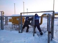 На газопроводе в с.Маслово устранена авария и все домовладения подключены к распределительной газовой сети