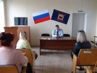 Представители Общественного совета при Отделе МВД России по Уйскому району посетили подразделения полиции
