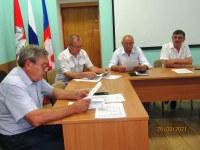 Состоялось очередное заседание комиссии по предупреждению и ликвидации чрезвычайных ситуаций и обеспечению пожарной безопасности Уйского района