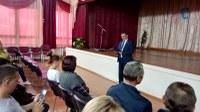 Встреча главы района с жителями п. Мирный