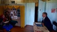 Встреча главы района В.А.Владельщикова с жителями д.Булатово