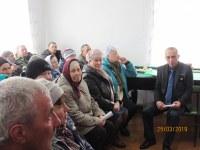 Встреча главы района В.А.Владельщикова с жителями д.Гусары