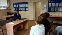 Встреча с коллективом ПФР и налоговой инспекции