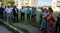 Встреча с жителями п.Мирный