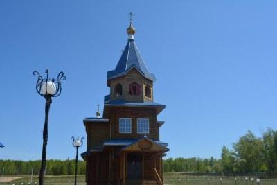Православный храм села Уйское
